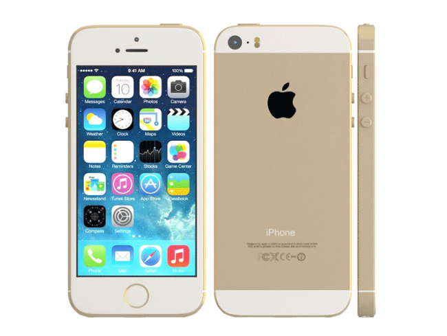 16GB iPhone 5S - Or/Argent/Noir